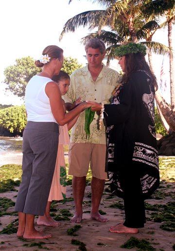Hawaiian Ceremony on Maui
